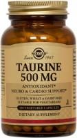 Амінокислоти SOLGAR Taurine 500 mg 100 cap