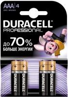 Фото - Аккумуляторная батарейка Duracell  4xAAA Professional MN2400