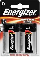 Фото - Аккумуляторная батарейка Energizer Power 2xD