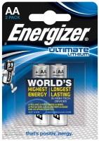 Аккумуляторная батарейка Energizer Ultimate  2xAA
