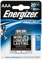 Аккумуляторная батарейка Energizer Ultimate  2xAAA