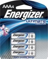Фото - Аккумулятор / батарейка Energizer Ultimate  4xAAA