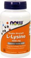 Фото - Аминокислоты Now L-Lysine 1000 mg 100 tab