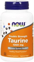 Фото - Амінокислоти Now Taurine 1000 mg 250 cap