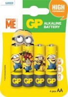Аккумуляторная батарейка GP Minions 4xAA