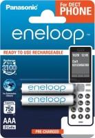 Аккумулятор / батарейка Panasonic Eneloop Dect  2xAAA 750 mAh