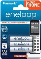 Фото - Аккумуляторная батарейка Panasonic Eneloop Dect  3xAAA 750 mAh