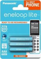 Фото - Аккумулятор / батарейка Panasonic Eneloop Lite Dect  3xAAA 550 mAh