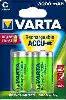 Фото - Аккумулятор / батарейка Varta Rechargeable Accu 2xC 3000 mAh