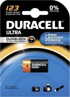 Фото - Аккумулятор / батарейка Duracell  1xCR123 Ultra M3