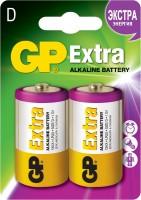 Фото - Аккумулятор / батарейка GP Extra Alkaline 2xD