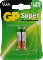 Фото - Аккумуляторная батарейка GP Super Alkaline 2xAAAA