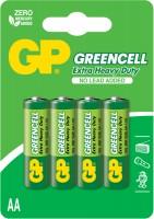 Фото - Аккумуляторная батарейка GP Greencell 4xAA