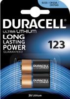 Фото - Аккумуляторная батарейка Duracell  2xCR123 Ultra M3
