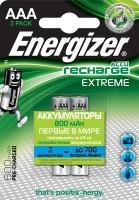 Фото - Аккумулятор / батарейка Energizer Extreme  2xAAA 800 mAh