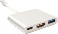 Картридер/USB-хаб Power Plant KD00AS1306