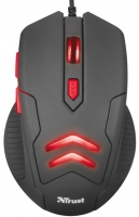Мышка Trust Ziva Gaming Mouse with Mouse Pad