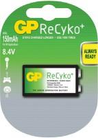Аккумуляторная батарейка GP ReCyko 1xKrona 150 mAh