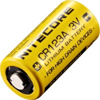 Фото - Аккумулятор / батарейка Nitecore 1xCR123