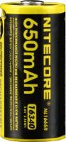 Аккумуляторная батарейка Nitecore NL1665R 650 mAh