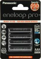 Фото - Аккумуляторная батарейка Panasonic Eneloop Pro  4xAAA 930 mAh