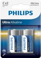 Аккумуляторная батарейка Philips Ultra Alkaline 2xD