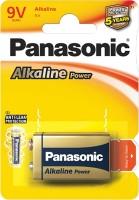 Фото - Аккумуляторная батарейка Panasonic Alkaline Power 1xKrona