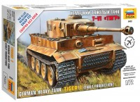 Фото - Сборная модель Zvezda Tiger I (1:72)