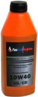 Моторное масло Gazsibneft Semisynthetic 10W-40 1л