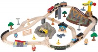 Фото - Автотрек / железная дорога KidKraft Bucket Top Construction Train Set 17805