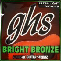 Фото - Струны GHS Bright Bronze 10-46