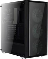 Корпус (системный блок) Aerocool Quartz RGB черный