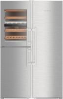 Холодильник Liebherr SBSes 8486 нержавеющая сталь