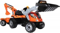 Веломобиль Smoby Builder Max Tractor