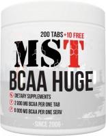Фото - Аминокислоты MST BCAA Huge 200 tab