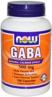 Фото - Аминокислоты Now GABA 500 mg 100 cap
