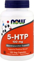 Фото - Аминокислоты Now 5-HTP 100 mg 120 cap