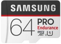 Карта памяти Samsung PRO Endurance microSDXC UHS-I 64Gb