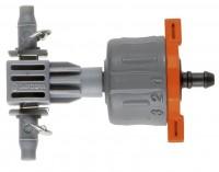 Фото - Дождеватель GARDENA Adjustable Inline Drip Head 8317-29
