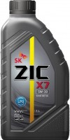 Моторное масло ZIC X7 LPG 5W-30 1л