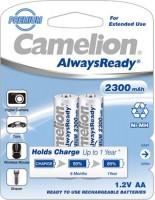 Фото - Аккумулятор / батарейка Camelion Always Ready 2xAA 2300 mAh