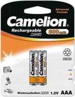 Фото - Аккумуляторная батарейка Camelion 2xAAA 600 mAh