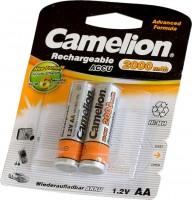 Фото - Аккумулятор / батарейка Camelion 2xAA 2000 mAh
