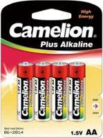 Фото - Аккумулятор / батарейка Camelion Plus  4xAA LR6-BP4