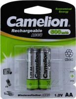 Аккумулятор / батарейка Camelion 2xAA 600 mAh