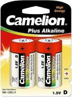 Фото - Аккумулятор / батарейка Camelion Plus 2xD