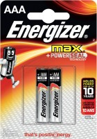 Фото - Аккумулятор / батарейка Energizer Max  2xAAA