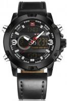 Фото - Наручные часы Naviforce Kosmos Black