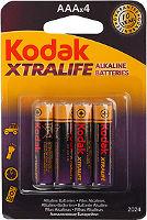 Фото - Аккумулятор / батарейка Kodak Xtralife  4xAAA