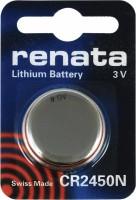 Фото - Аккумулятор / батарейка Renata 1xCR2450